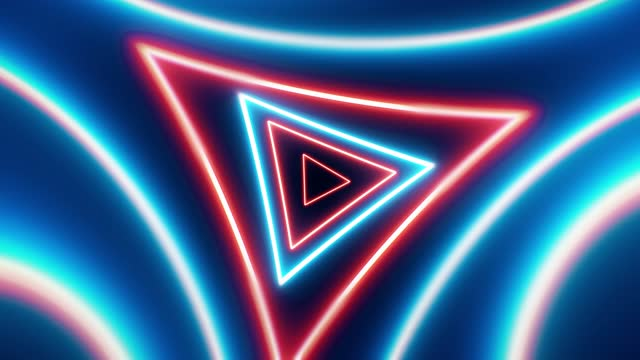 abstract fiber optic glowing triangle shapes background spinning loopable, beatiful vj, dj light show,   the concepts of vortex, tunnel, game, internet, data, party, nightclub, fashion glow, virtual reality, lazer, lighting show - game show stock videos & royalty-free footage