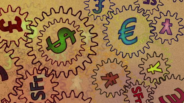 stockvideo's en b-roll-footage met abstract finance background - sprocket