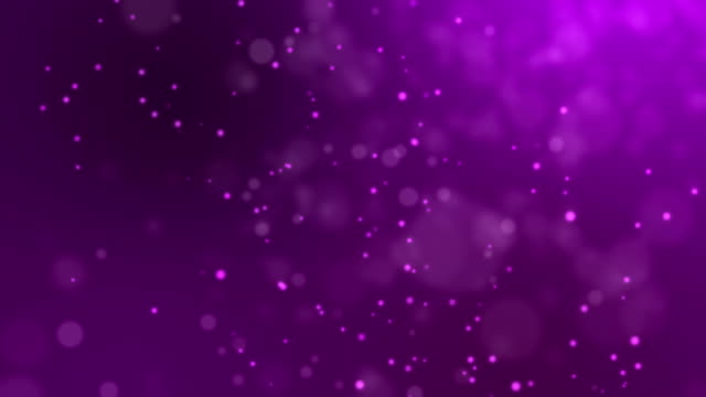 Abstract fire bokeh on purple background