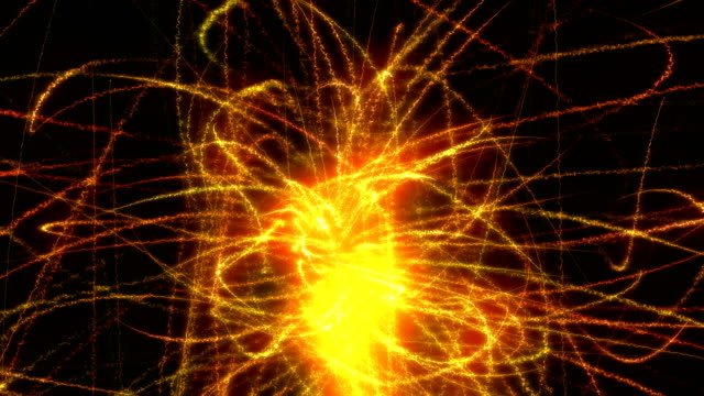 abstract firework - fade out stock videos & royalty-free footage