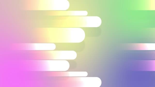 抽象的なフラットデザインラインデジタル背景 - ループストックビデオ - シームレスな背景 - 滑らか点の映像素材/bロール