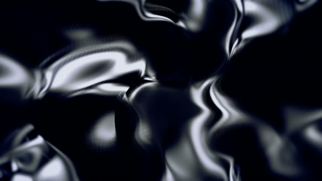abstract flowing shape looping animation backgrounds - metal stock videos & royalty-free footage