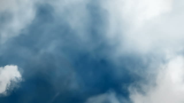 abstract flying through clouds and smoke - cloud matte stock videos & royalty-free footage