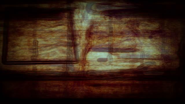 vídeos de stock, filmes e b-roll de abstract forms ripple and pulse (loop). - tecido humano