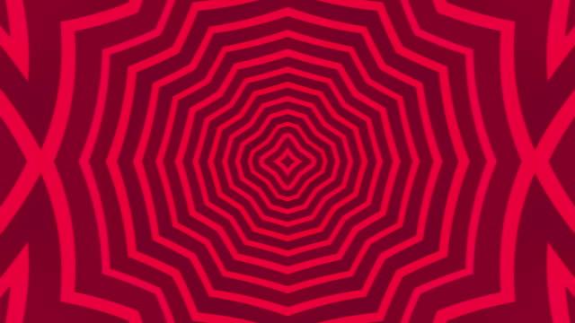 vídeos de stock, filmes e b-roll de fractal abstrato caleidoscópio fundo - clubbing