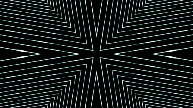 abstract fractal kaleidoscope background - geometric stock videos & royalty-free footage