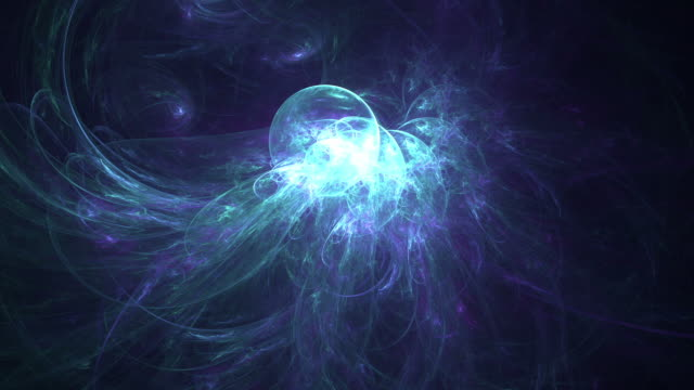 abstract fractal spheres oscillation - quantum physics stock videos & royalty-free footage