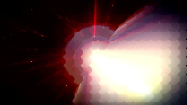 抽象先物 - ワールド・ワイド・ウェブ点の映像素材/bロール