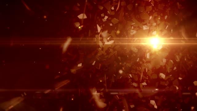 vidéos et rushes de abstrait fond futuriste - casser les codes