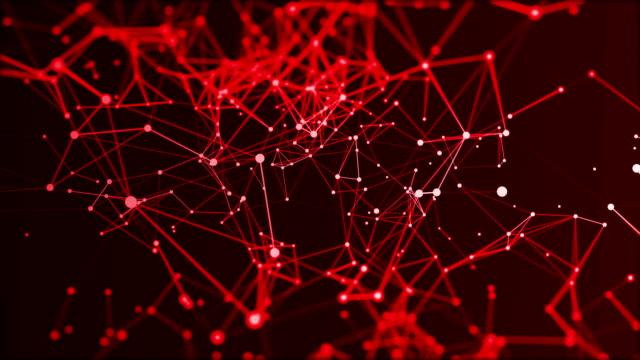 vídeos y material grabado en eventos de stock de fondo de conexiones de datos futuristas abstractas, concepto tecnológico - malla alámbrica