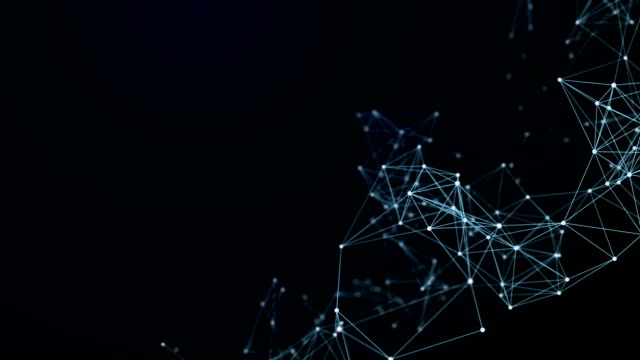 abstract futuristic data connections background, technology concept background - connection stock videos & royalty-free footage