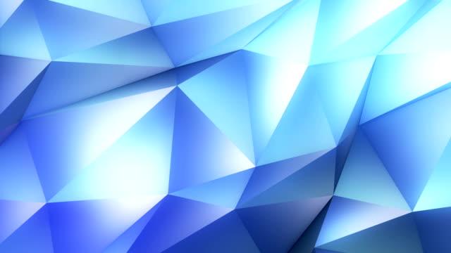 抽象的な幾何学の背景に青色