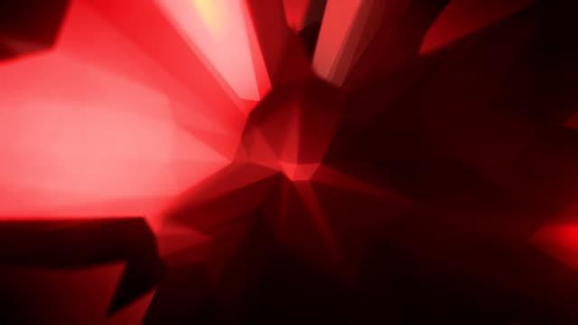 abstract geometric background. hd1080 motion graphics - l'uomo e la macchina video stock e b–roll