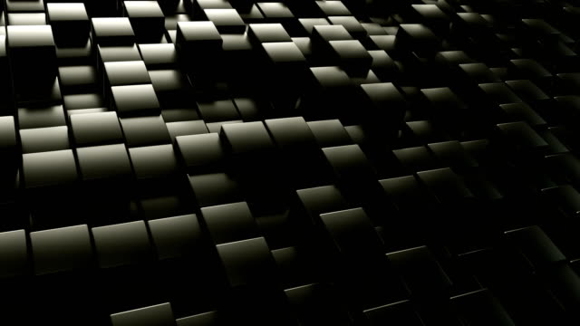 abstract geometric background | loopable - cube stock videos & royalty-free footage
