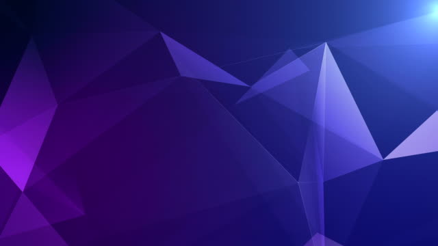 abstract geometric background seamless loop in blue - two dimensional shape stock videos & royalty-free footage