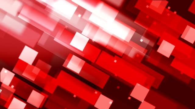 vídeos y material grabado en eventos de stock de resumen de antecedentes geométrico (loopable) - bloque forma