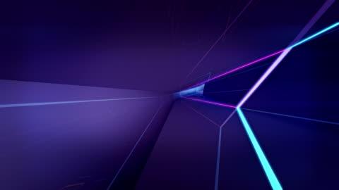 stockvideo's en b-roll-footage met abstracte geometrische achtergrond - laser