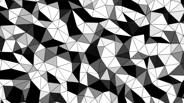 HD : Abstract Geometric Shape Background Loop-able.