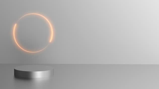 abstrakte geometrische form - spärlichkeit stock-videos und b-roll-filmmaterial