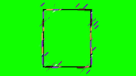 4k abstract geometric shapes frame - border stock videos & royalty-free footage