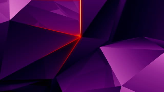abstract geometric triangle background. loop. - illustration stock videos & royalty-free footage