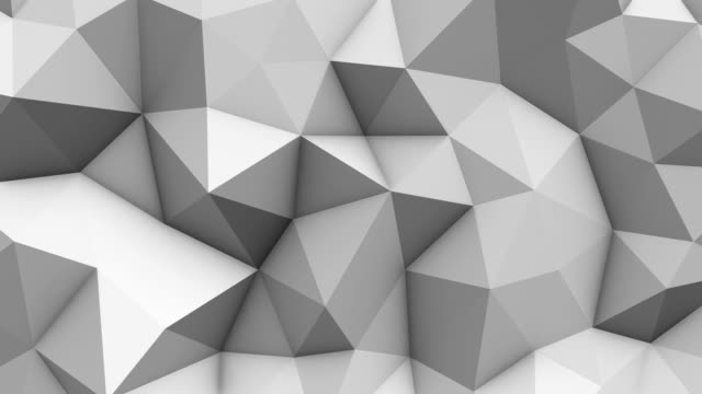 abstract geometric triangle background - mosaic stock videos and b-roll footage