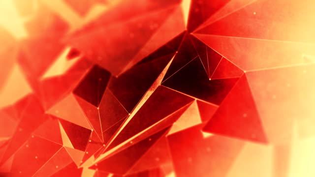 Abstrakta geometriska triangel bakgrund