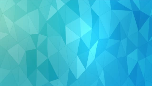 abstract geometric triangles background based on blue colors - cristallo video stock e b–roll