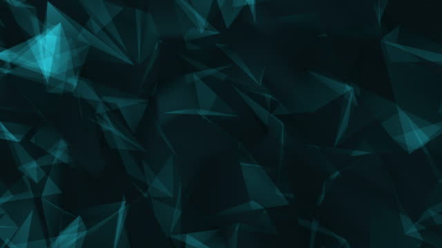 abstract geometric triangles background blue pattern, wave pattern, high definition television, backgrounds, abstract - poster template stock videos & royalty-free footage