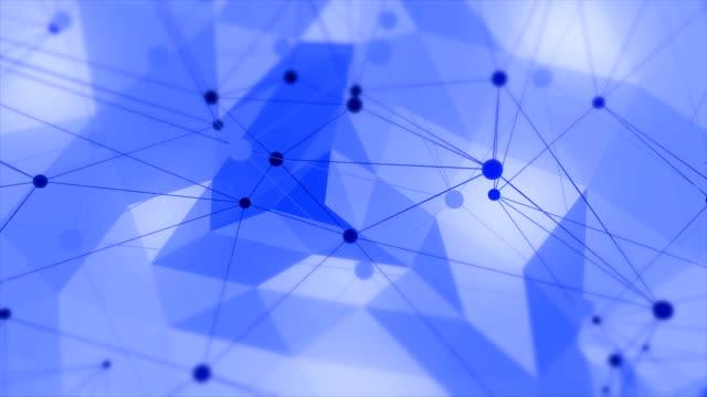 vídeos y material grabado en eventos de stock de lazo de fondo abstracto geométrico triángulos - geometría