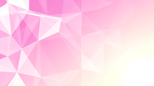 Abstract Geometric Triangles Background pink