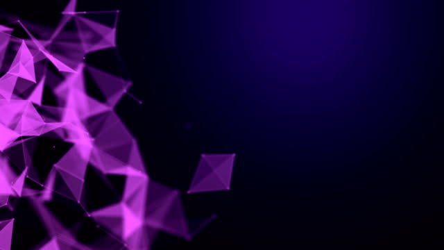 abstract geometric triangles background - aiming stock videos & royalty-free footage