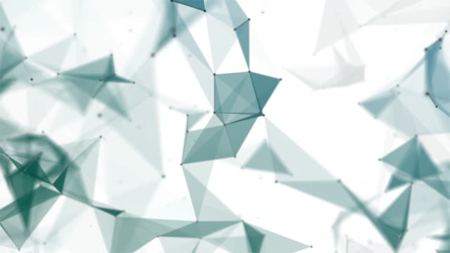 abstract geometric triangles background - aiming stock videos and b-roll footage