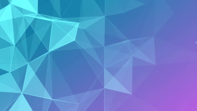 abstract geometric triangles background violet - loopable elements stock videos & royalty-free footage