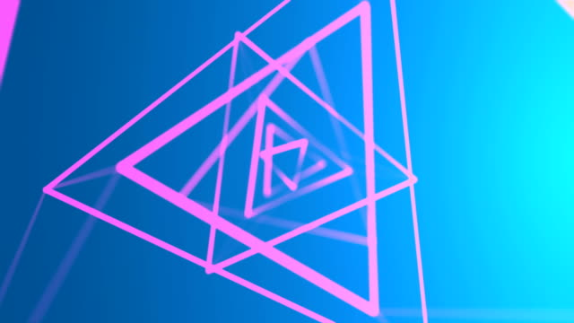 abstract geometrical background - square stock videos and b-roll footage