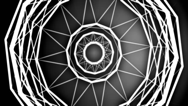 vídeos de stock, filmes e b-roll de abstrato geométrico fundo - rombo