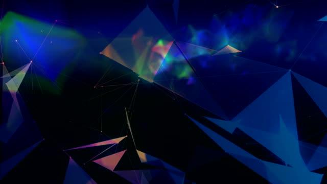 abstrakte geometrische hintergrund - winkel stock-videos und b-roll-filmmaterial