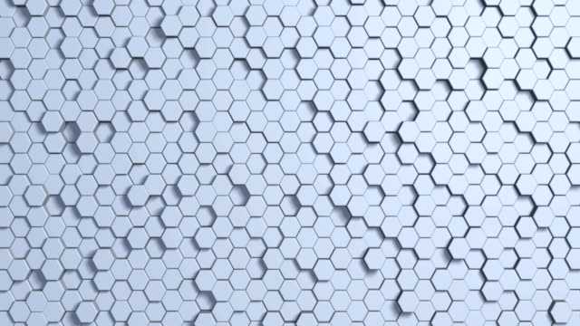 abstract geometry background - loop 4k - hexagon stock videos and b-roll footage