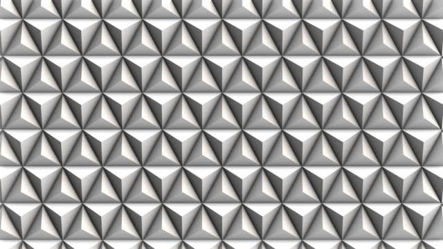 抽象的な幾何学の背景 - 物の集まり点の映像素材/bロール