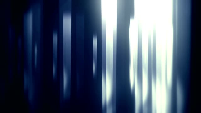abstract glass shapes with reflections loop background - pannello di controllo video stock e b–roll