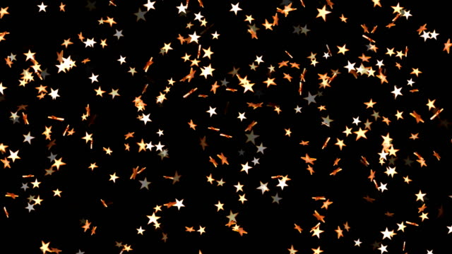 abstract glittering star particles motion background - glowworm stock videos & royalty-free footage