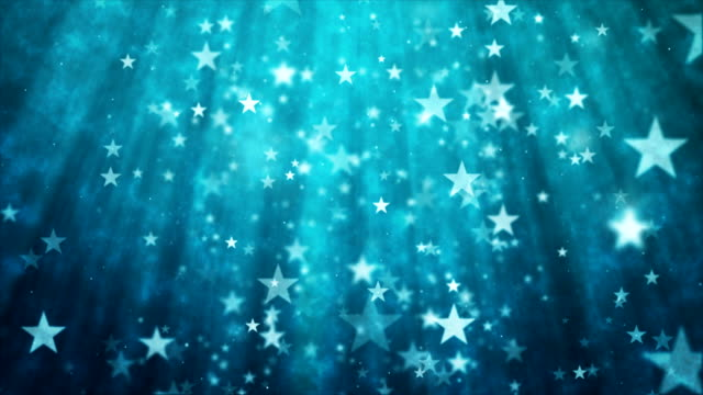 abstract glittering star particles motion background - stars stock videos & royalty-free footage