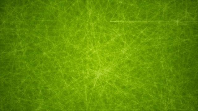 abstract glowing futuristic network, technology geometrical 4k green background with lines and dots loopable - connection in process stock videos & royalty-free footage