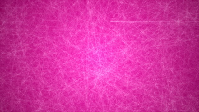 abstract glowing futuristic network, technology geometrical 4k pink background with lines and dots loopable - connection in process stock videos & royalty-free footage