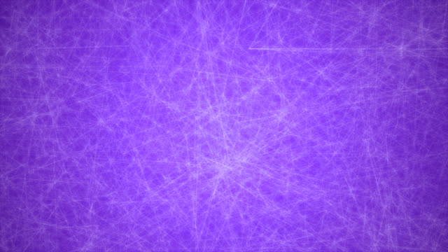 abstract glowing futuristic network, technology geometrical 4k purple background with lines and dots loopable - connection in process stock videos & royalty-free footage