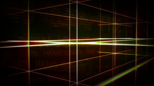 cgi, abstract glowing lines - crisscross stock videos & royalty-free footage