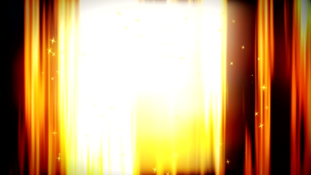 abstract golden curtain loopable background - curtain stock videos & royalty-free footage