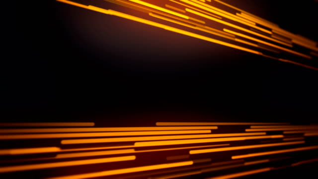 abstract  golden lines loopable background footage - arancione video stock e b–roll
