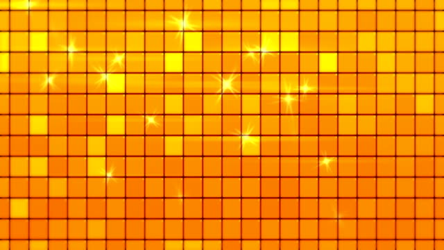 abstract golden square tiles loopable background - flooring stock videos & royalty-free footage