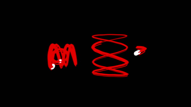 abstract graffiti art - brush stroke stock videos & royalty-free footage